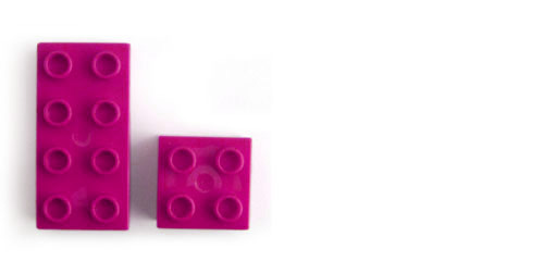 About - Pink Lego