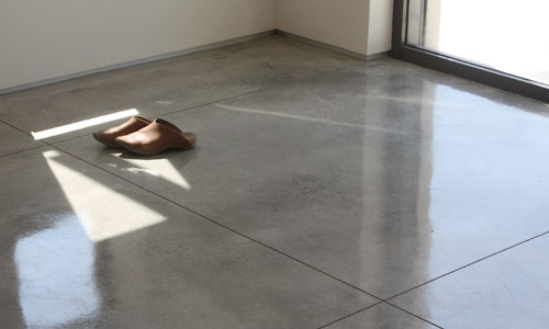 Sheffi concrete floor