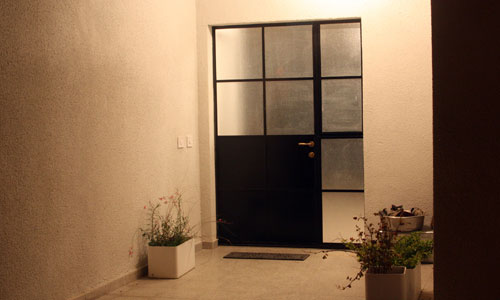 ayala moses door at night